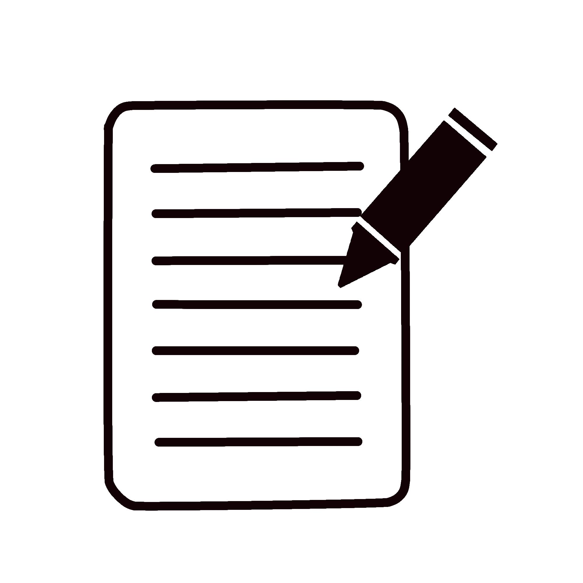 摄图网_401451029_纸和笔办公图标(企业商用).png